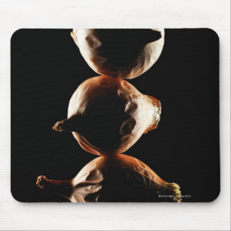Picolos,Vegetable,Black background Mouse Pad