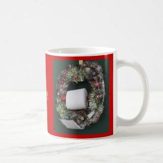 Picor II del navidad Taza Básica Blanca