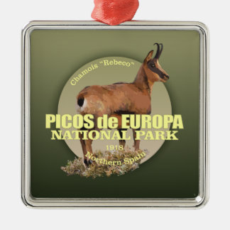 Picos de Europa NP (Chamois) WT Metal Ornament
