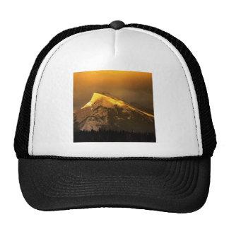Picos de oro del parque de Rundle Banff Ain Albert Gorros