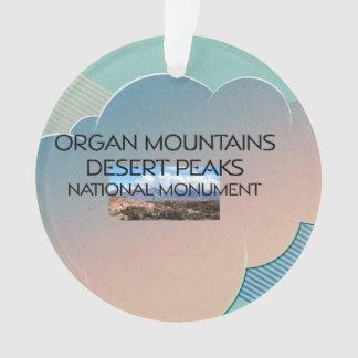 Picos del desierto de las montañas del órgano de A