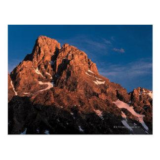Picos del parque nacional magnífico de Teton, Postales