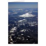 Picos nevados tarjetón