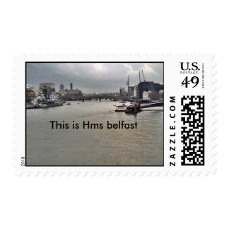 PICT0052 5X5, This is Hms belfast Postage