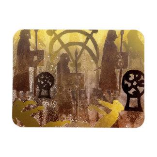 Pictish Birsay Stone Rectangular Photo Magnet