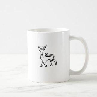 Pictish cat coffee mug