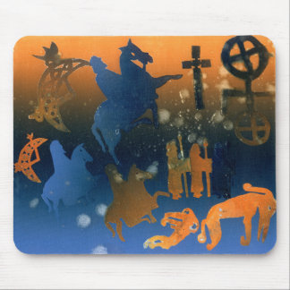 Pictish Ceremony Mouse Pad