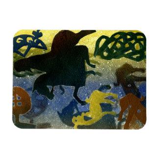 Pictish Horsemen Rectangular Photo Magnet