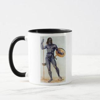 Pictish Man Holding a Shield Mug