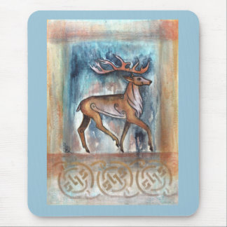 Pictish Stag Art Mouse pad