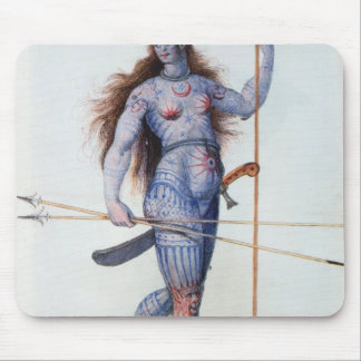 Pictish Woman Mouse Pad