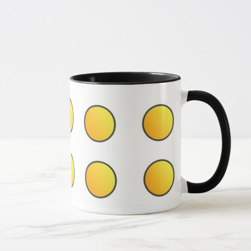 Picto - Mug - Coloris: Amarillo anaranjado