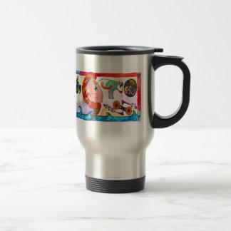 Pictocelt - featuring Pictocelt man Travel Mug
