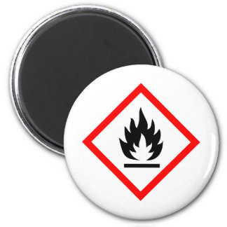 Pictogram [flammable] magnet