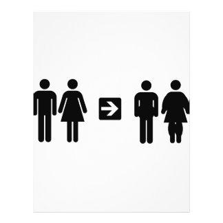pictogram humor flyer design