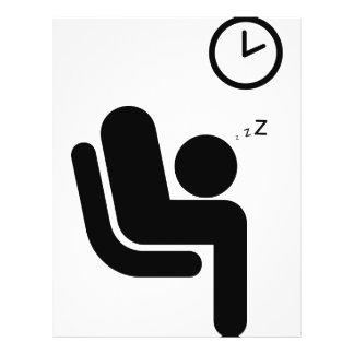 pictogram humor full color flyer