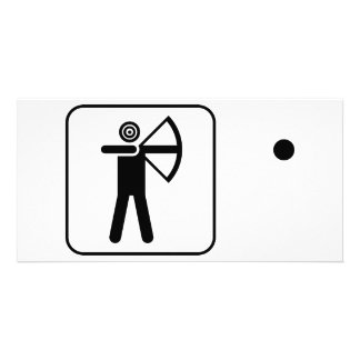 Pictogram Humor Photo Card Template
