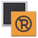 Pictogram Magnet, No Parking