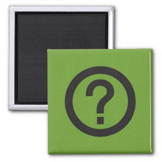 Pictogram Magnet, Question Mark Magnet
