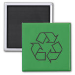 Pictogram Magnet, Recycle