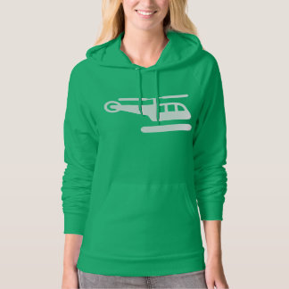 Pictogram T-Shirt, Helicopter Hoodie