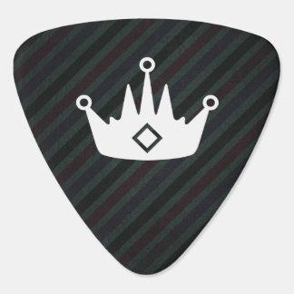 Pictograma de las coronas de los juegos plumilla de guitarra