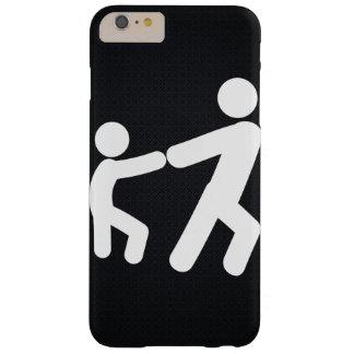 Pictograma de las fricciones funda de iPhone 6 plus barely there