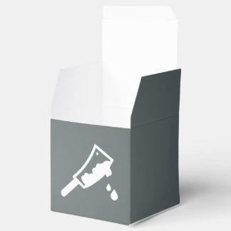 Pictograma de las pruebas criminales caja para regalos de fiestas