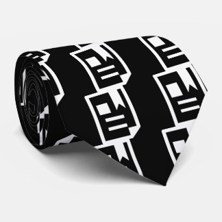 Pictograma de los agregados corbata personalizada