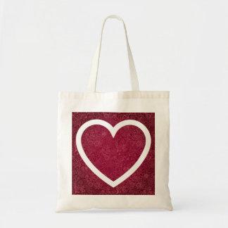 Pictograma de los corazones del comercio bolsa tela barata