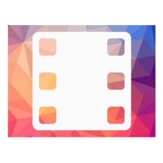 Pictograma de los directores de cine tarjeta postal