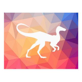 Pictograma de los omnívoros del dinosaurio postal