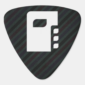 Pictograma de los secretos del diario plumilla de guitarra