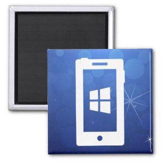 Pictograma de Windows del dispositivo Imán Cuadrado
