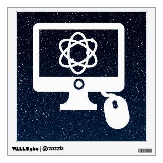 Pictograma educativo de las tecnologías vinilo decorativo