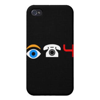 Pictograma IPHONE4 (ARTÍCULO del FRIKI) iPhone 4 Fundas