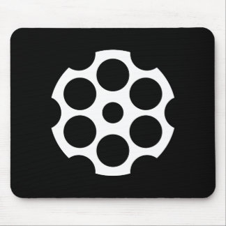 Pictograma Mousepad de la cámara de arma Tapetes De Raton