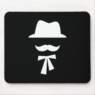 Pictograma Mousepad del bigote y del gorra