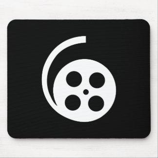 Pictograma Mousepad del carrete de la película Tapetes De Raton