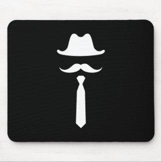 Pictograma Mousepad del gorra del bigote y de