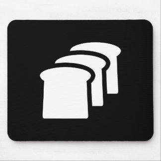 Pictograma Mousepad del pan Tapete De Raton