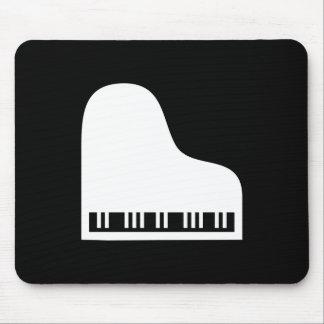 Pictograma Mousepad del piano Alfombrillas De Ratones