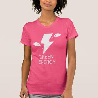 Pictograma verde de las energías playera