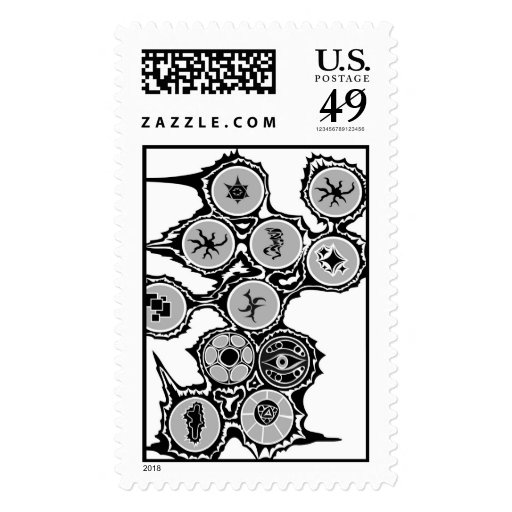 Pictograms Postage Stamps