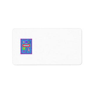 Pictograph Custom Address Label