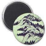 Pictorial for Hokusais 36 views of Mount Fuji Refrigerator Magnets