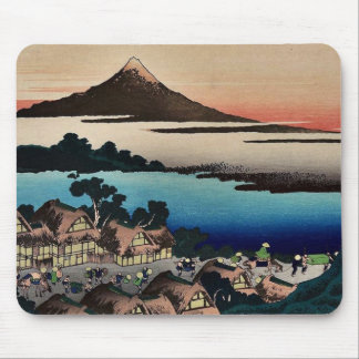 Pictorial  for Hokusais 36 views of Mount Fuji Mouse Pad
