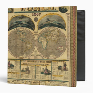 Pictorial View of the World Binder