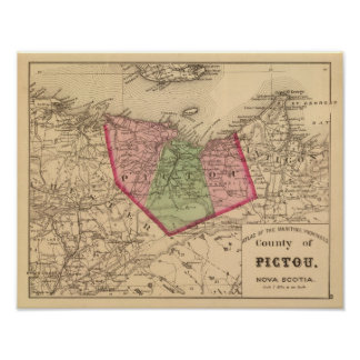 Pictou Co, NS Poster