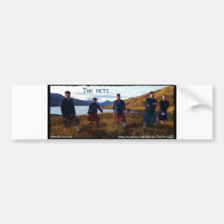 Picts in Colour Bumper Stickers